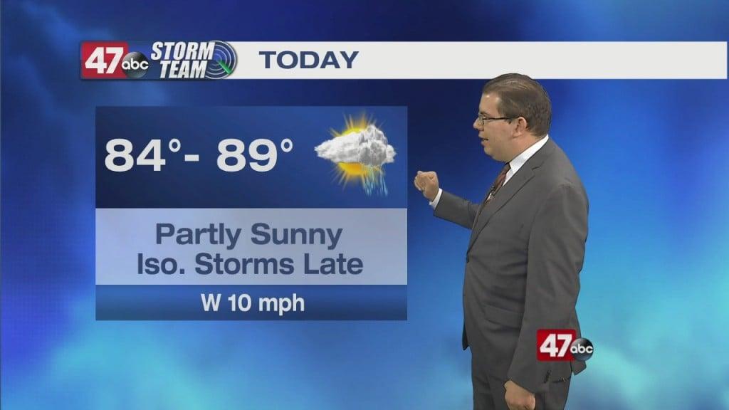 Morning Forecast Video 7.18.21
