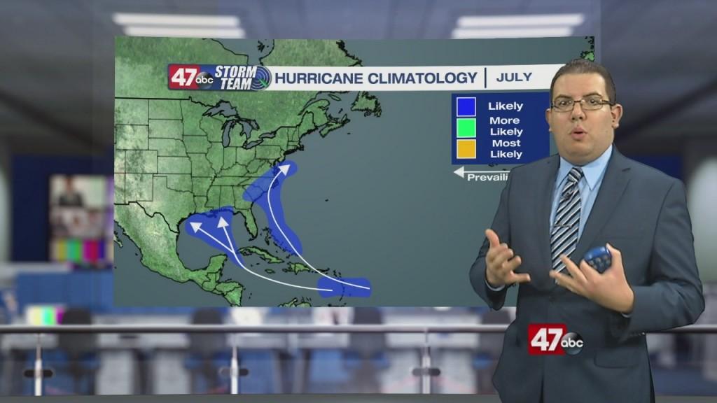 Weather Tidbits: Hurricane Climatology I