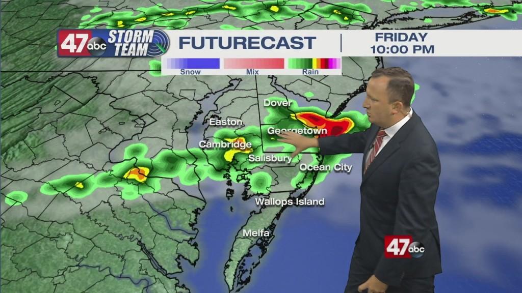 Evening Forecast Video 08.27.21