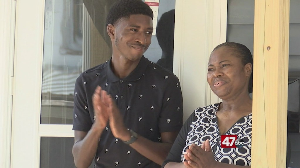 Habitat For Humanity Offers Home To Family