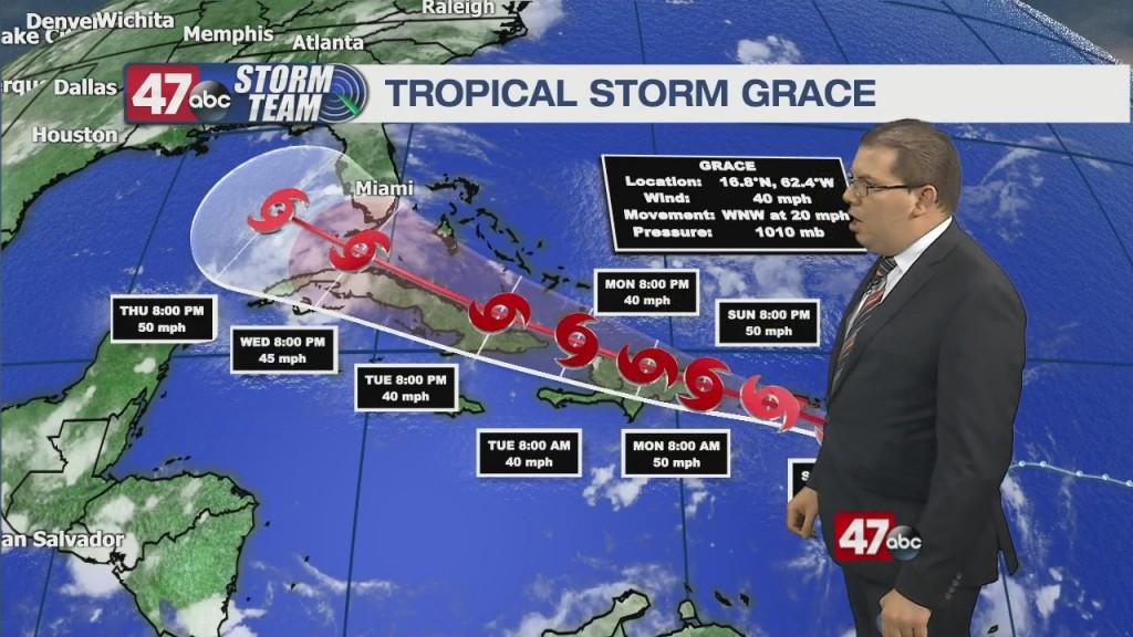 Overnight Forecast Video 8.14.21