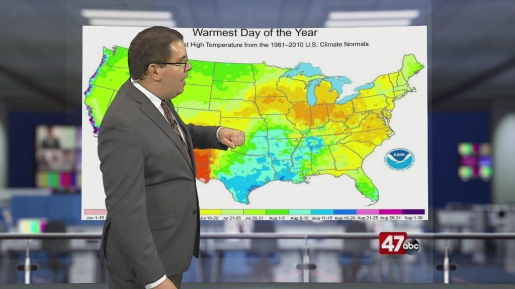Weather Tidbits: Summer Seasonal Lag