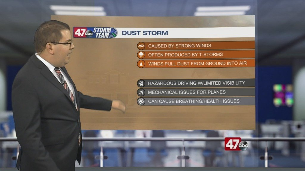 Weather Tidbits: Dust Storm Ii