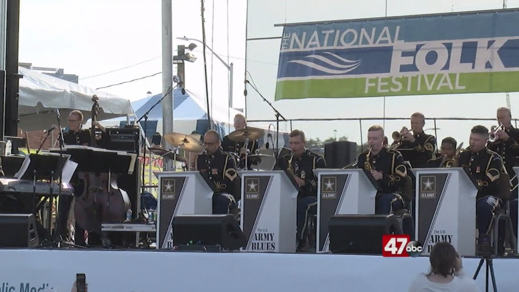 U.s. Army Blues Commemorate 9/11