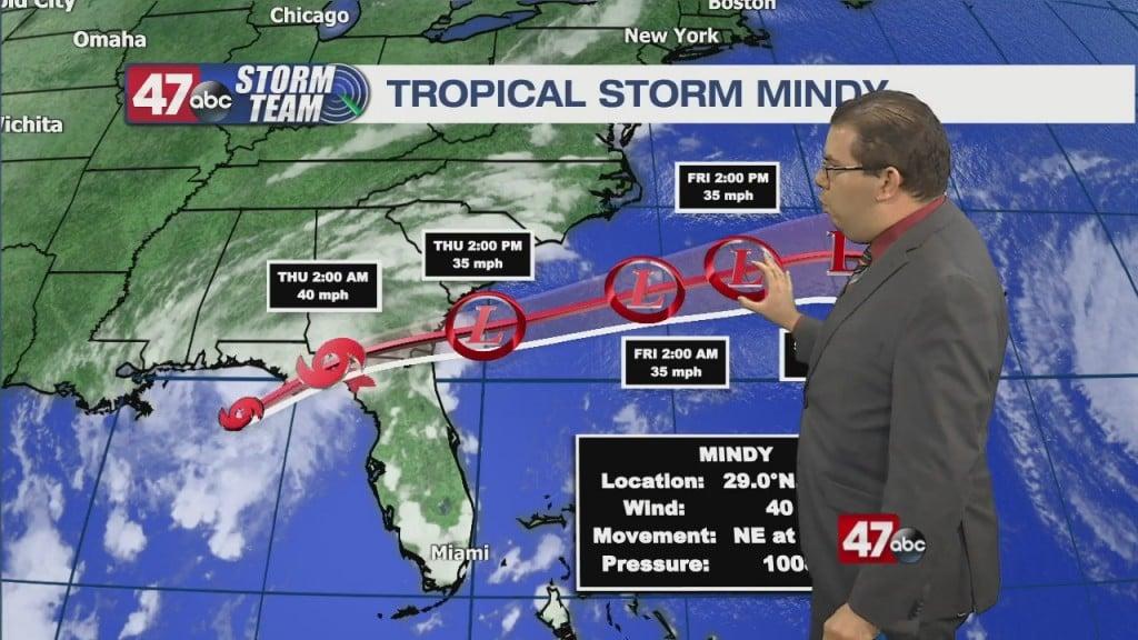 Evening Forecast Video 9.8.21