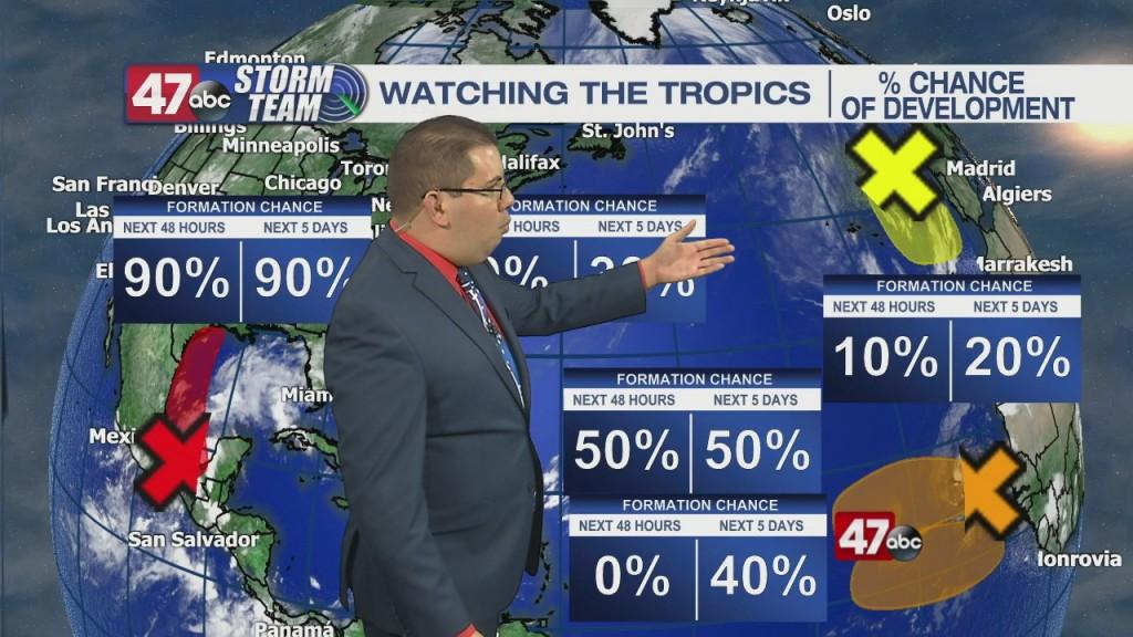 Evening Forecast Video 9.11.21