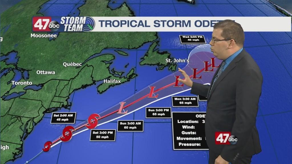 Evening Forecast Video 9.17.21