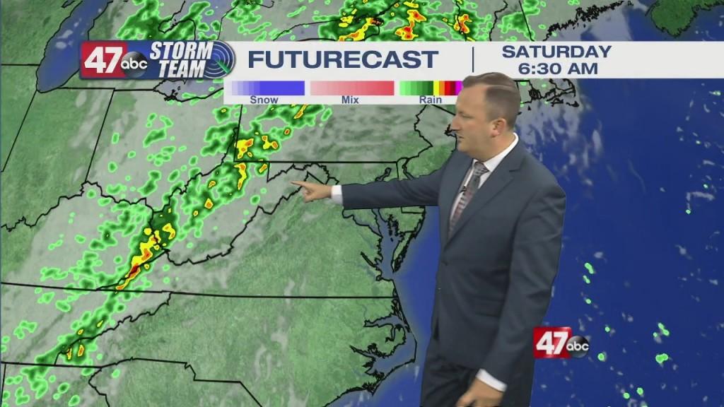 Evening Forecast Video 10.13.21