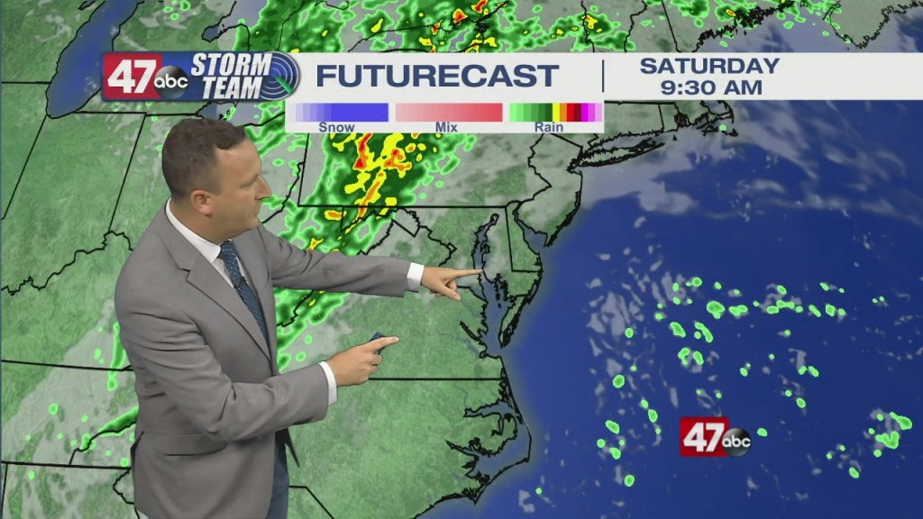 Evening Forecast Video 10.15.21