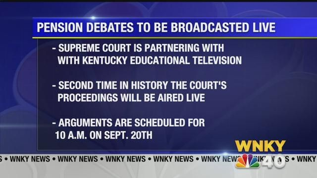 Kentucky Pension Arguments To Be Broadcasted On Statewide Televi