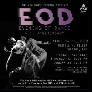 Evening of Dance - 45th Anniversary @ Russell Miller Theatre | Bowling Green | Kentucky | United States