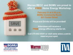 Home Energy Savings Workshop @ BGMU Community Room  | Bowling Green | Kentucky | United States