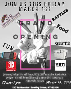 CBD Store Grand Opening! @ CBD American Shaman  | Bowling Green | Kentucky | United States