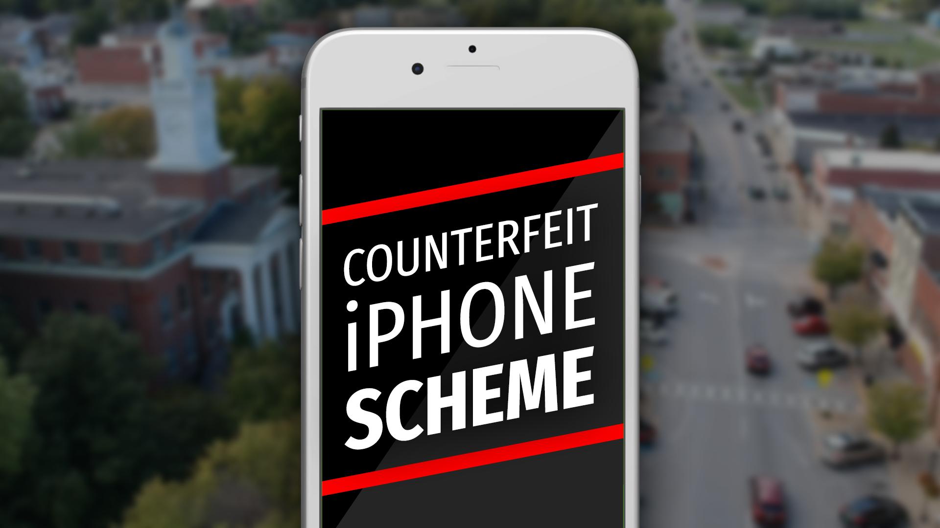 glasgow police warn of counterfeit iphone scheme