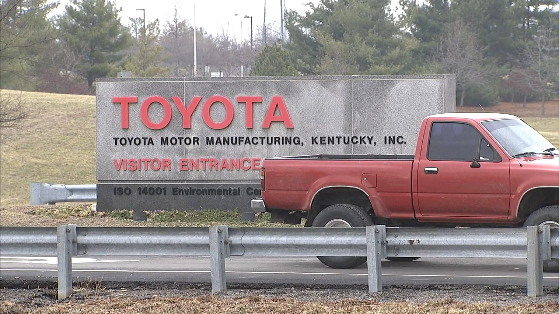 Man Dies After Accident At Georgetown Toyota Plant Wnky