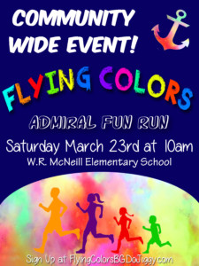 Flying Colors Admiral Fun Run @ McNeill Elementary | Bowling Green | Kentucky | United States