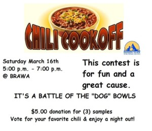 Battle of the Bowls - Chili Cook Off @ Barren River Animal Welfare Association   Glasgow   Kentucky   United States