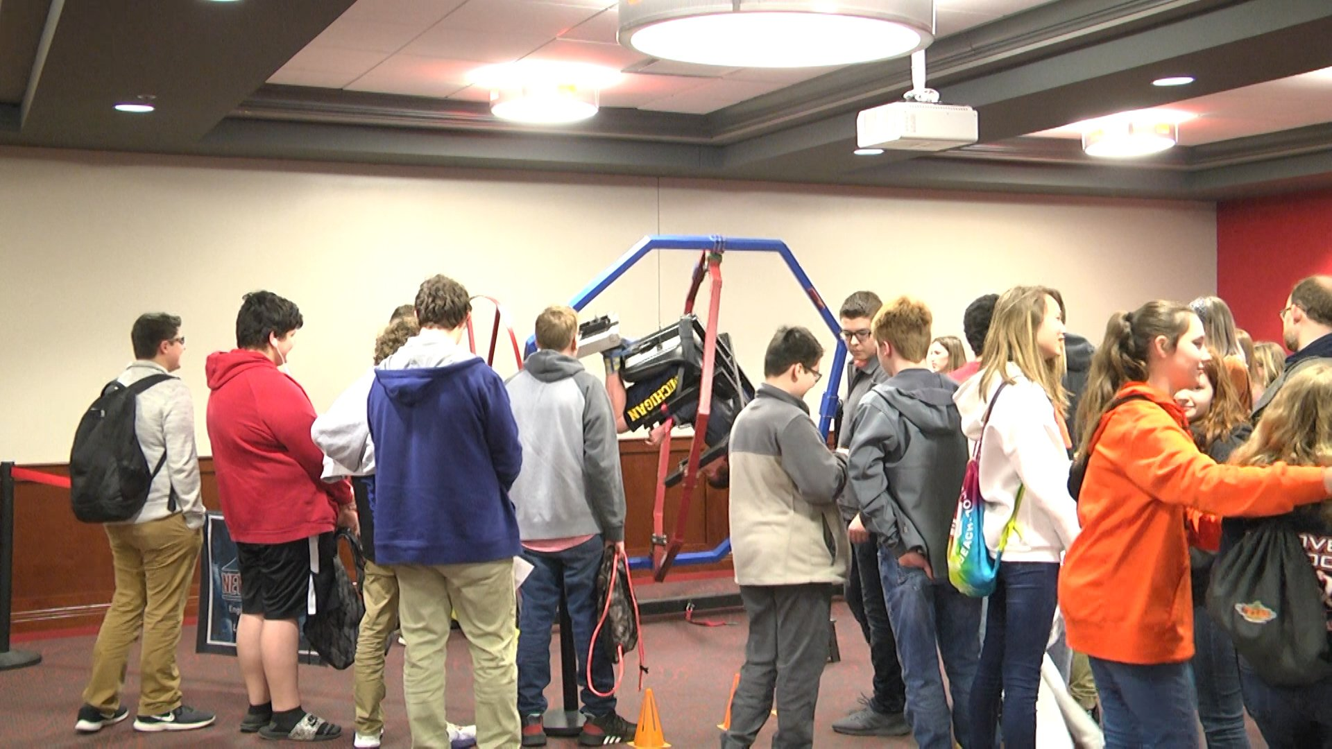 Middle School And High School Students Participate In Annual Idea