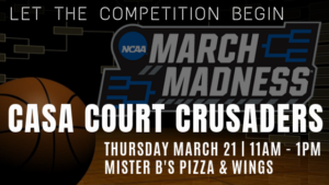 CASA Court Crusaders do March Madness @ Mister B's | Bowling Green | Kentucky | United States