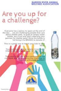 Penny Challenge @ Barren River Animal Welfare Association  | Glasgow | Kentucky | United States