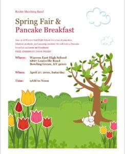 Spring Fair and Pancake Breakfast @ Warren East High School | Bowling Green | Kentucky | United States