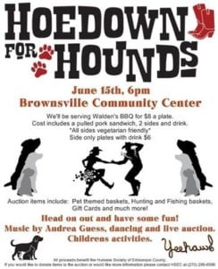 Hoedown for the Hounds @ Brownsville Community Center