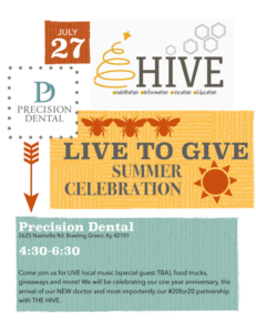Precision Dental's Live to Give Summer Celebration @ Precision Dental | Bowling Green | Kentucky | United States