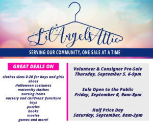 Lil Angels Attic Childrens Consignment Sale @ Broadway United Methodist Church | Bowling Green | Kentucky | United States