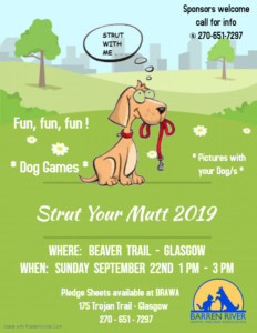 Strut Your Mutt 2019 @ Beaver Trail Park | Glasgow | Kentucky | United States