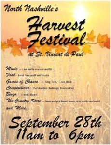 North Nashville Harvest Festival @ Historic St. Vincent de Paul School Gymnasium | Nashville | Tennessee | United States