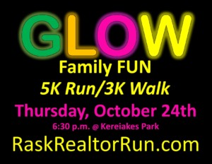 REALTORS® Hope for Homeless 6th Annual GLOW Family Fun 5K Run/3K Walk @ Kereiakes Park |  |  |