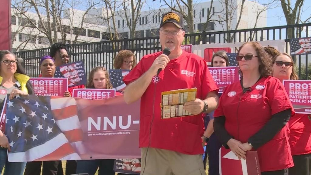 Nurses Demand Coronavirus Protection