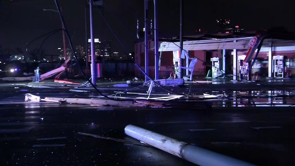 Tornado Hits Nashville
