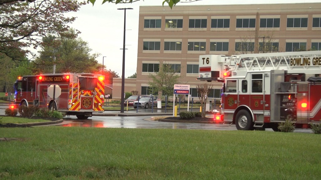 First Responders Salute Hospital