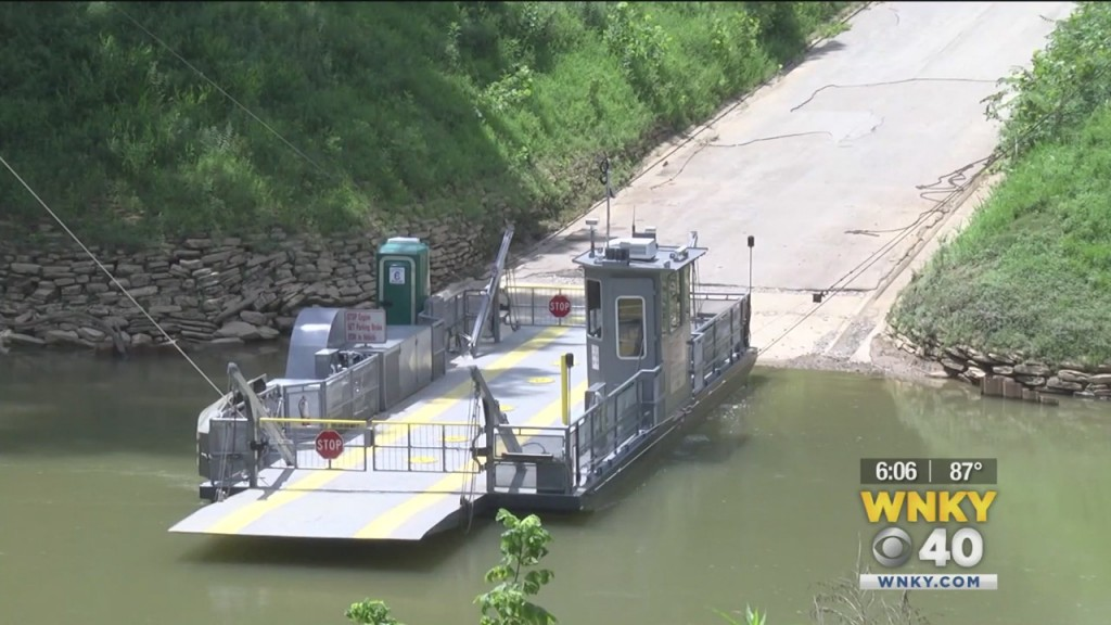 Mammoth Cave Temporarily Reopens The Green River Ferry
