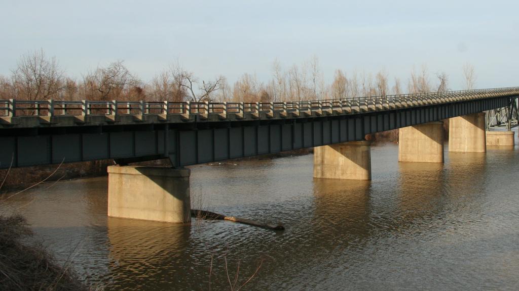 Ohio River Bridge Cairo