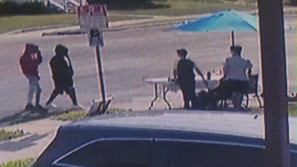 Caught On Camera: Lemonade Stand Robbed At Gunpoint