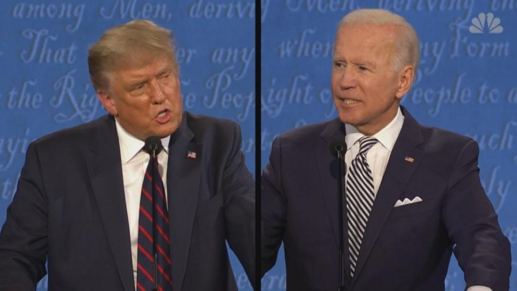 Presidential Debate Descends Into Chaos