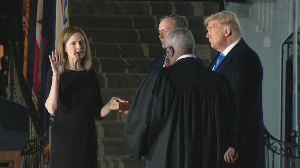 Barrett Confirmed To U.s. Supreme Court