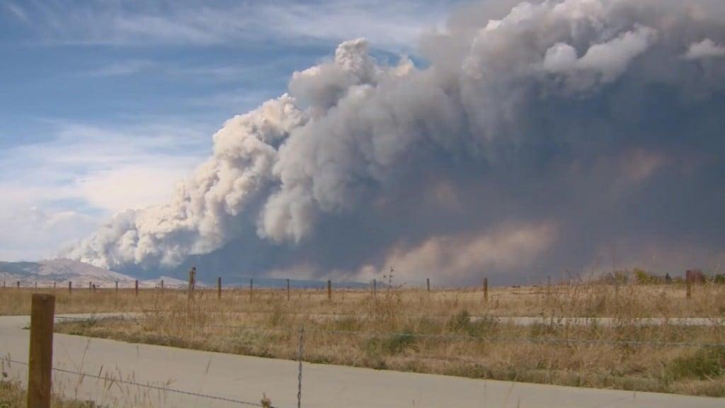 Colorado Wildfire Destroys Dozens Of Homes