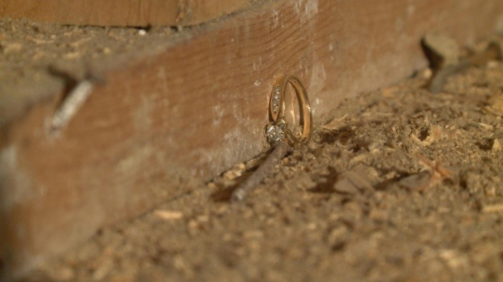 Renovations Uncover Long Lost Ring