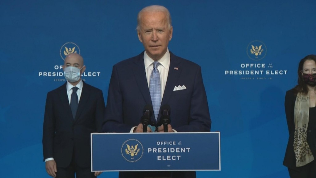 Biden Introduces National Security Team