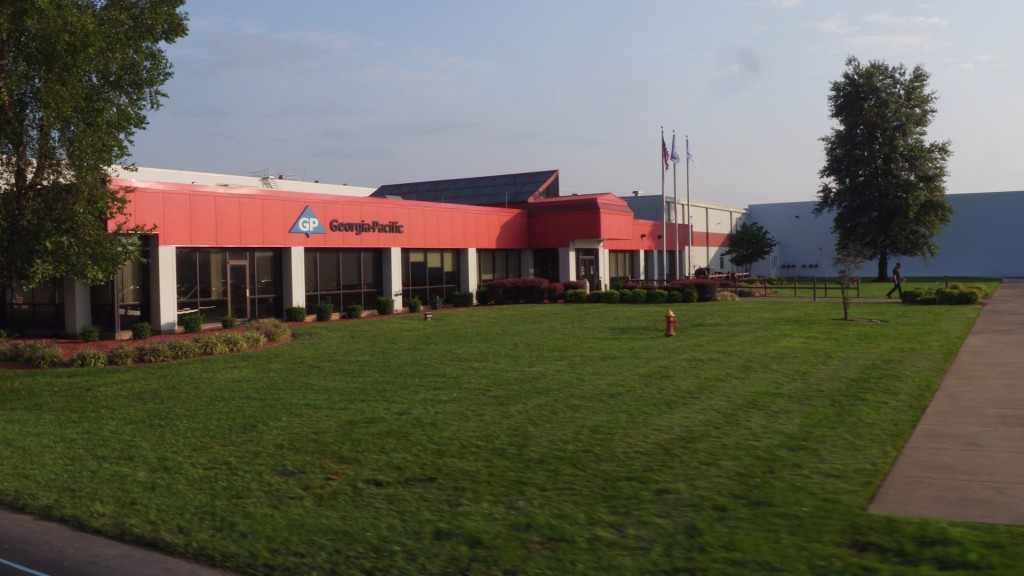 Georgia Pacific Bowling Green Exterior