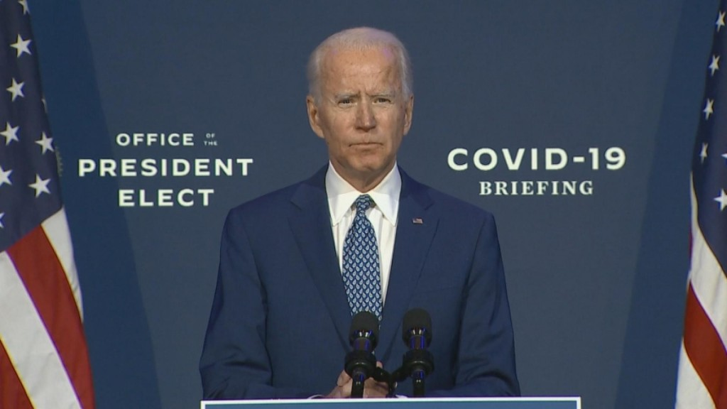 Biden Kicks Off Transition With Plea For Masks