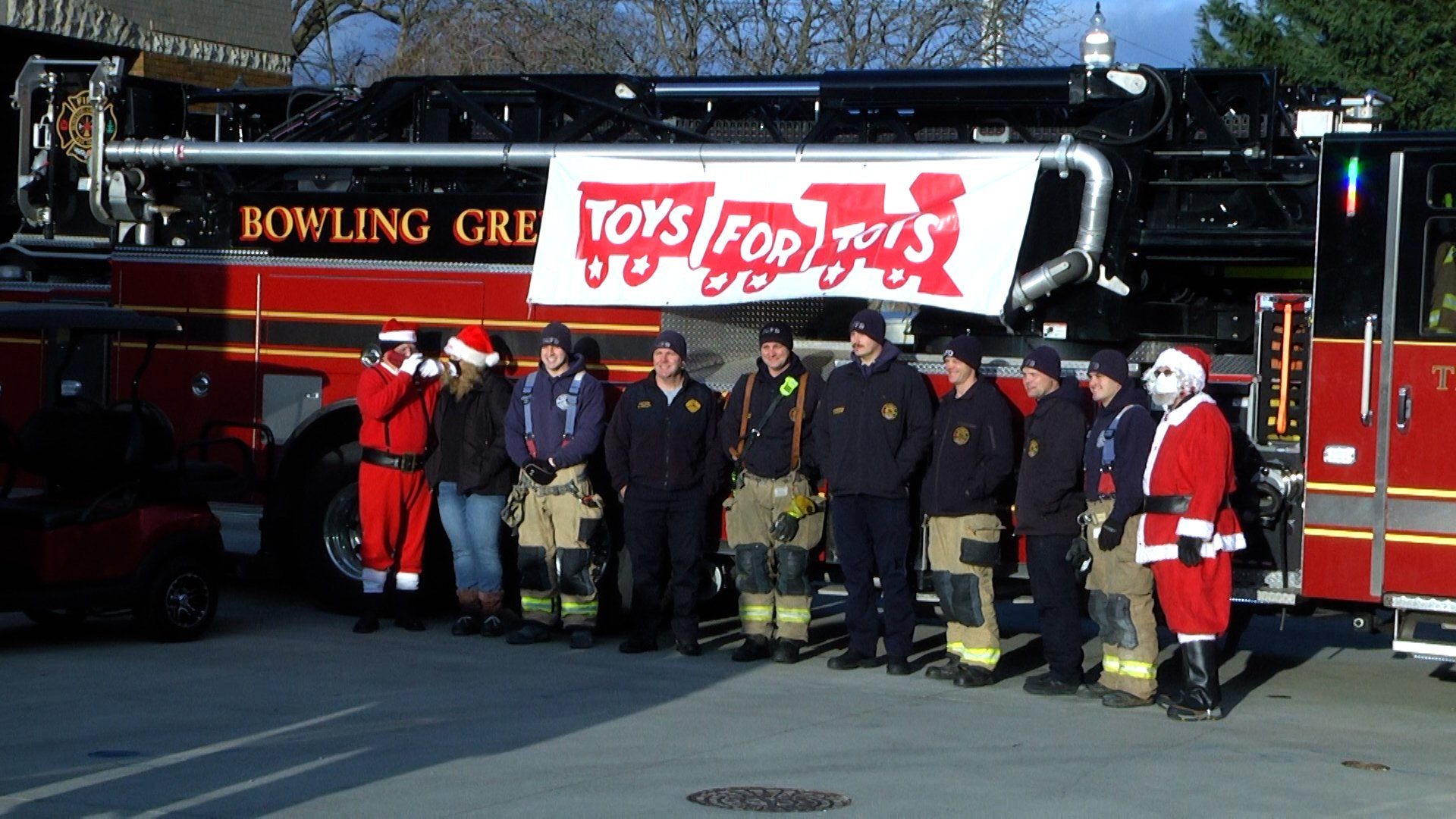 Christmas surprise given to local kids by the fire department – WNKY 40 News