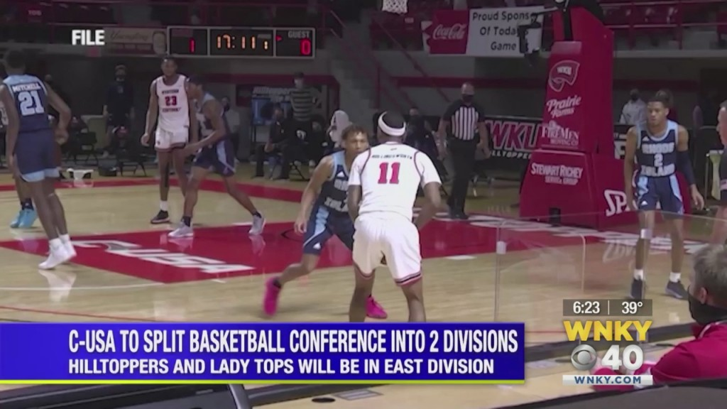 Conference Usa Splits Into Two Divisions For Its 2020 2021 Basketball Season