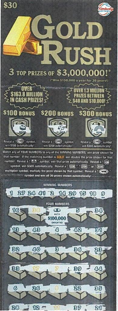 100000 30 Gold Rush 1 13 21