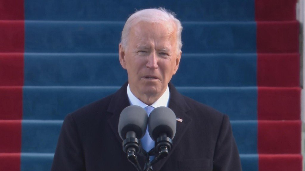 """""""unity Is The Path Forward"""" Biden Issues Call For Healing"""
