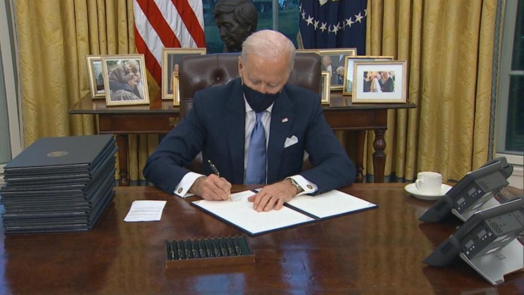 Biden Administration Kicks Off Aggressive Agenda