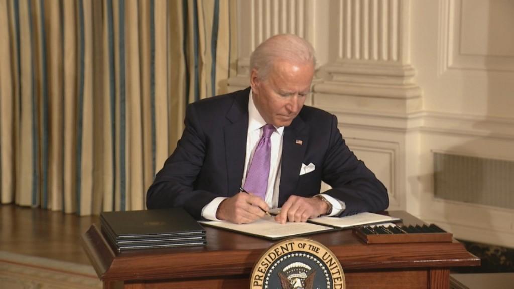 Biden Executive Orders Push For Racial Equity